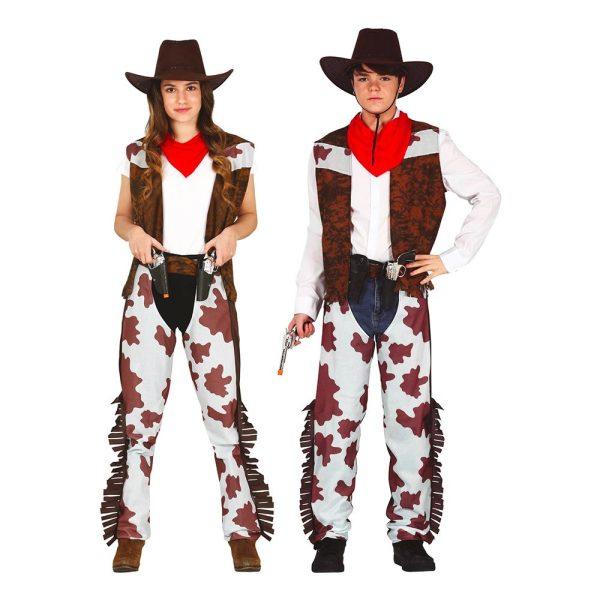 Cowboy Teen Maskeraddräkt - One size