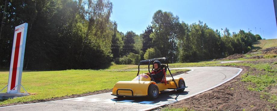 Downhill Cars för fem