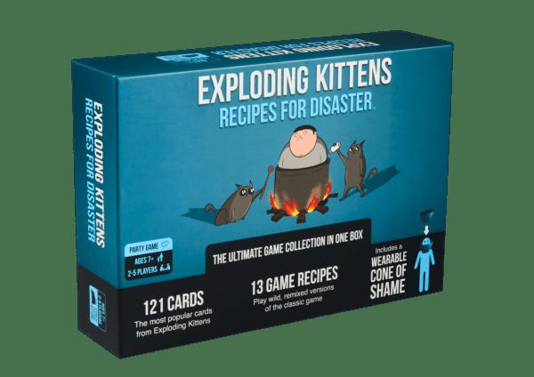 Exploding Kittens Recipes for Disaster (Eng)