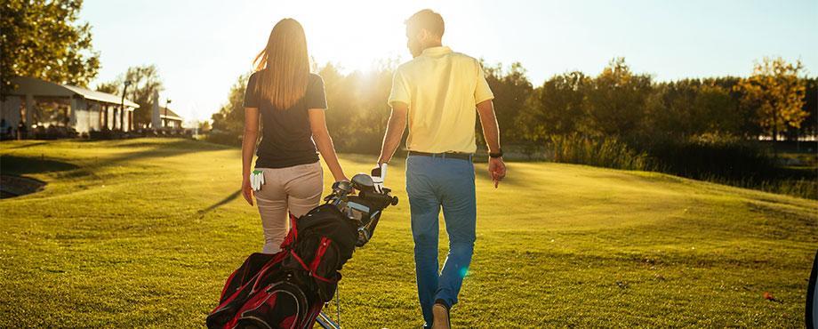 Golf för två