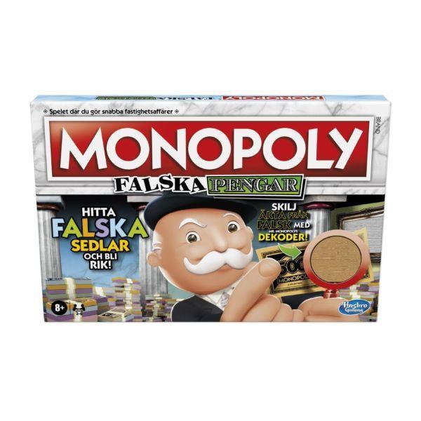 Monopoly Falska Pengar (Sv)