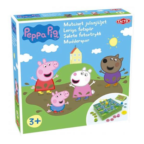 Peppa Pig Leriga Fotspår Barnspel