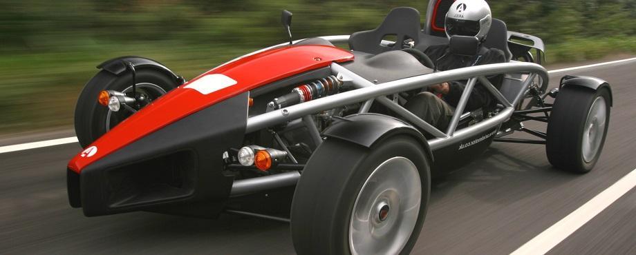 Racetaxi med Ariel Atom - 5 varv
