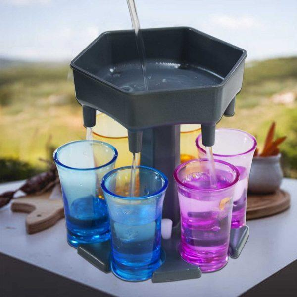 Shotglas Dispenser - Utan shotglas