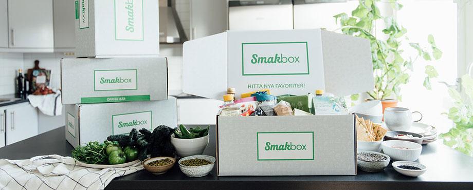 Smakbox - 2 boxar