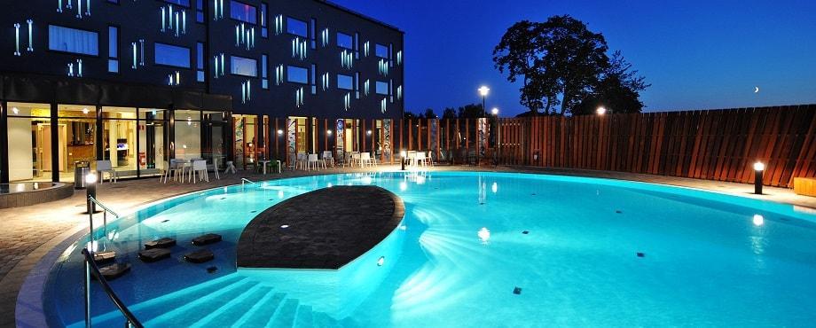 Spadag Kosta Boda Art Hotel för två