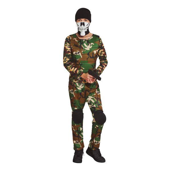 Special Force Halloween Teen Maskeraddräkt - One size