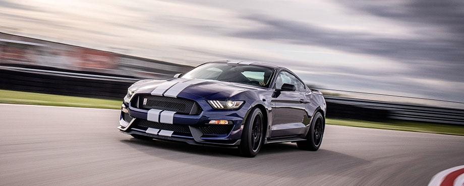 Speedtest Ford Mustang Shelby GT350