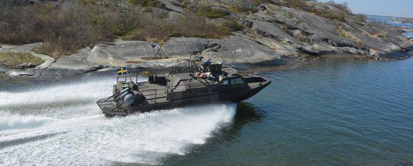 Stridsbåt 90 för två - Stockholms skärgård