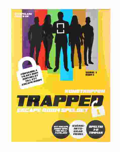 Trapped Rymningsspel Konstkuppen (Sv)