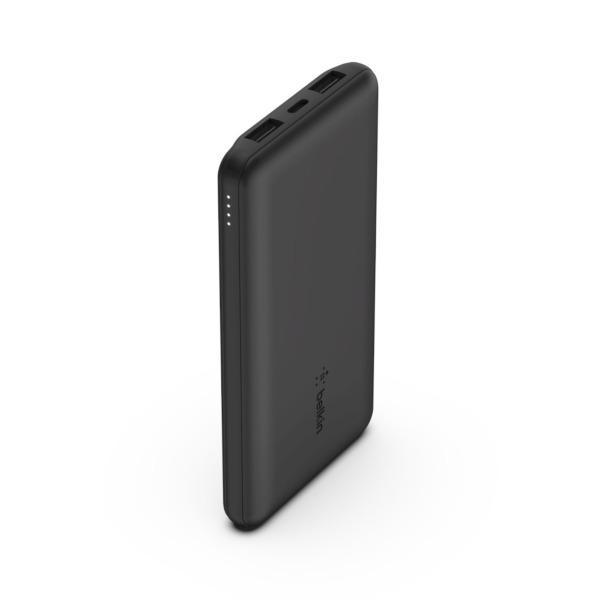 Belkin Powerbank 10000mAh / 2 x USB-A / 1 x USB-C - Svart