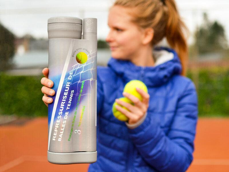 Bounce Pressure Tube för Padel- och Tennisbollar