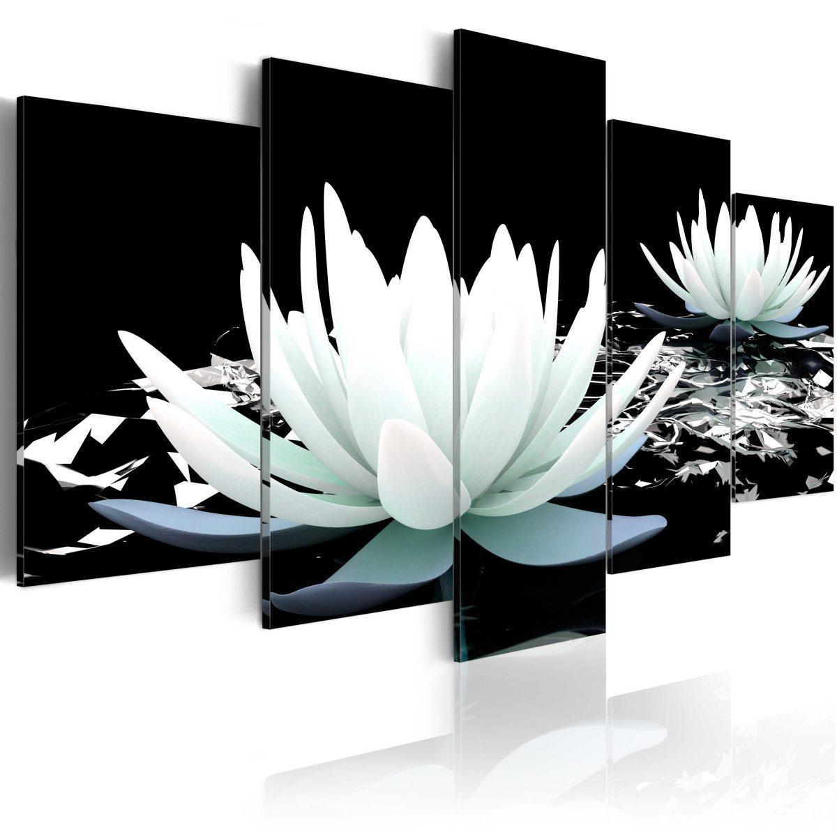 Canvas Tavla - Alabaster reflection - 100x50