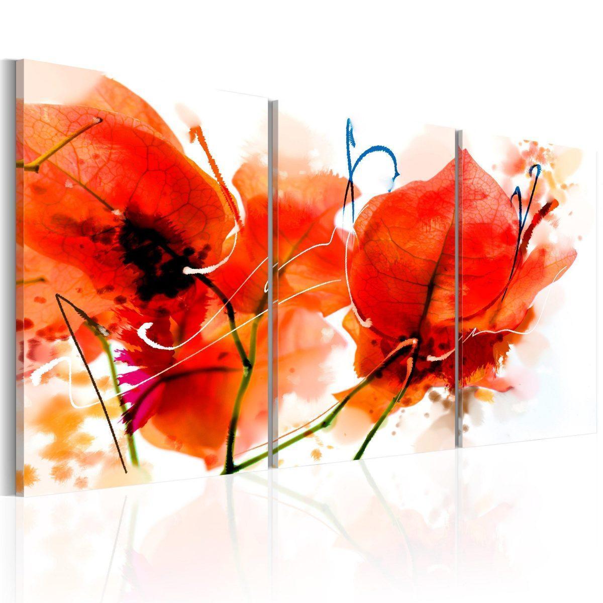 Canvas Tavla - Autumn Garden - 120x60