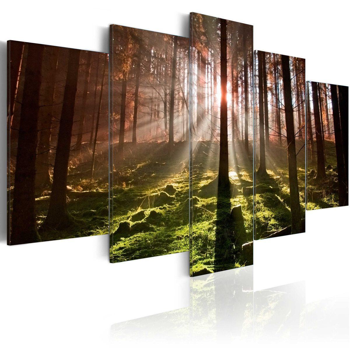 Canvas Tavla - Autumn silence - 100x50
