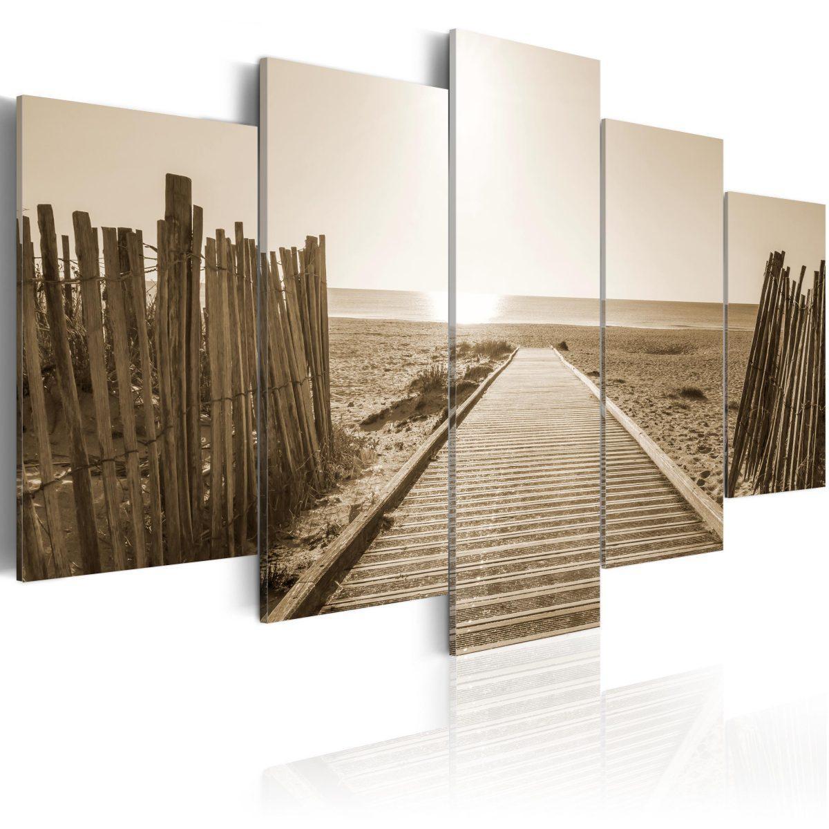 Canvas Tavla - Beach of Memories - 100x50