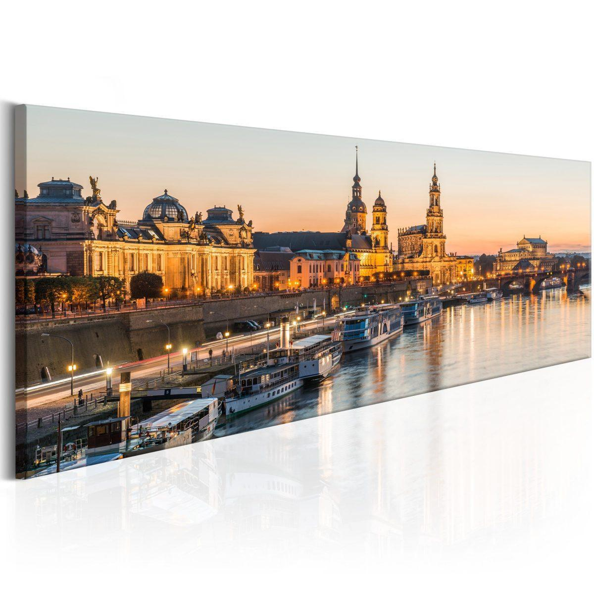 Canvas Tavla - Beautiful Dresden - 120x40