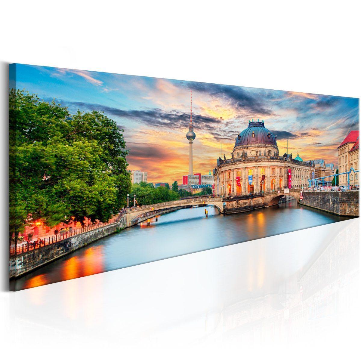 Canvas Tavla - Berlin: Museum Island - 135x45