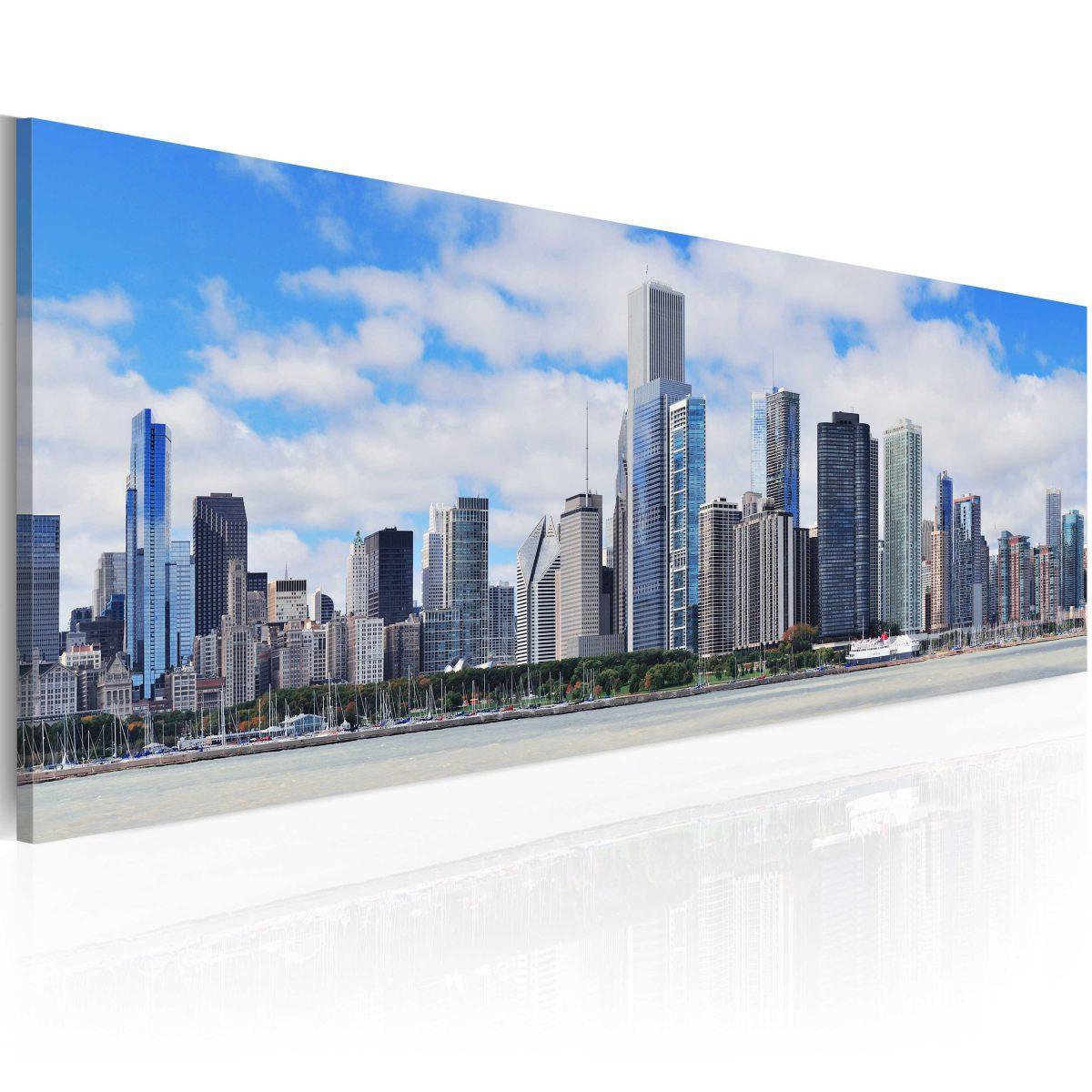 Canvas Tavla - Big city - big hopes - 120x40