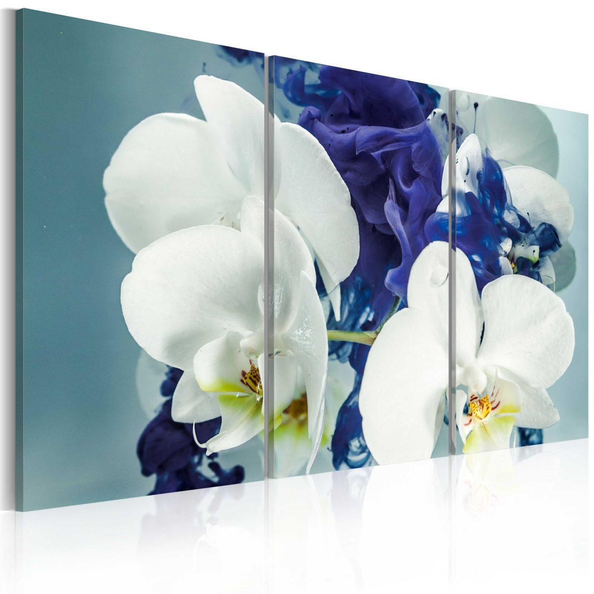 Canvas Tavla - Chimär orkidéer - 120x80