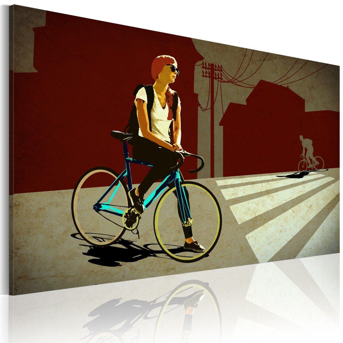 Canvas Tavla - City Trip - 120x80