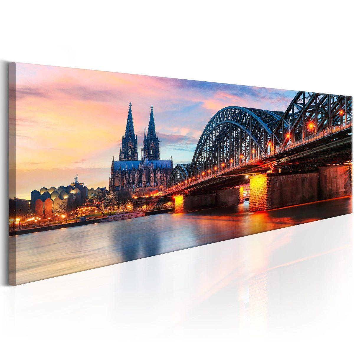 Canvas Tavla - Cologne, Germany - 120x40