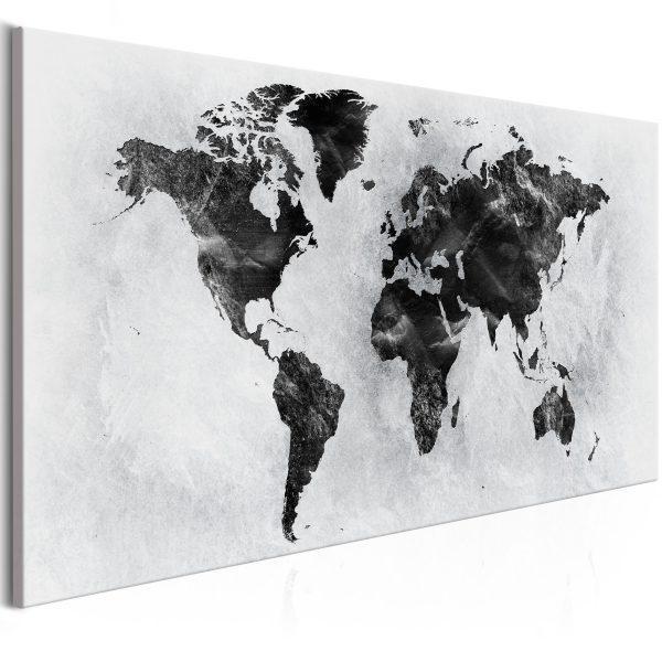 Canvas Tavla - Concrete World