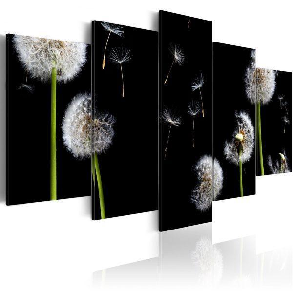 Canvas Tavla - Dandelion- towards freedom - 200x100