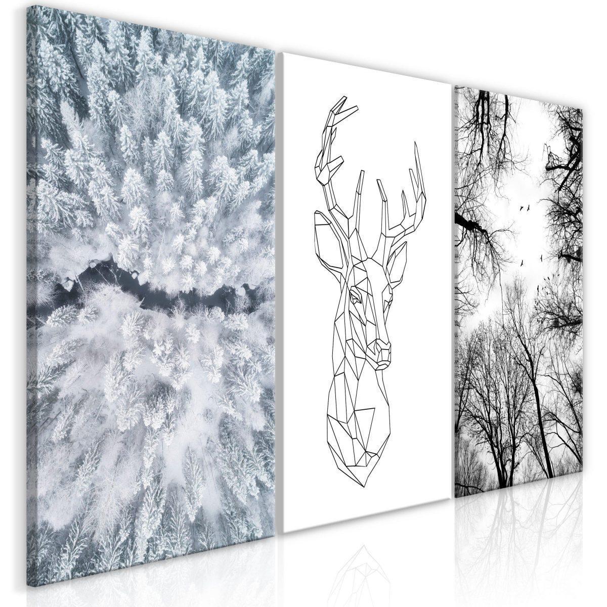 Canvas Tavla - Deers Life