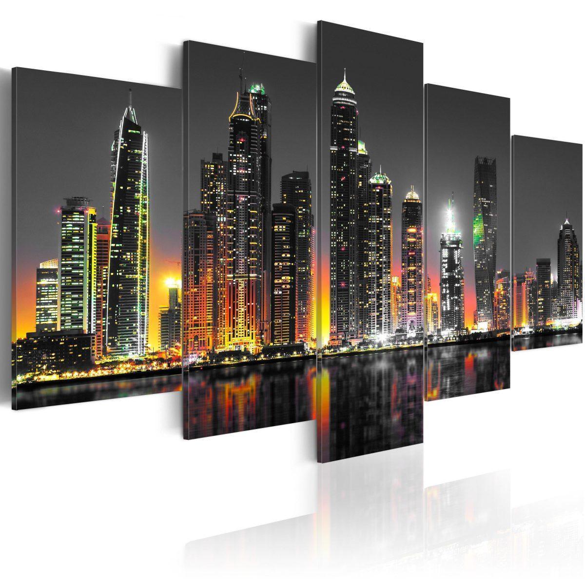 Canvas Tavla - Desertic City - 100x50