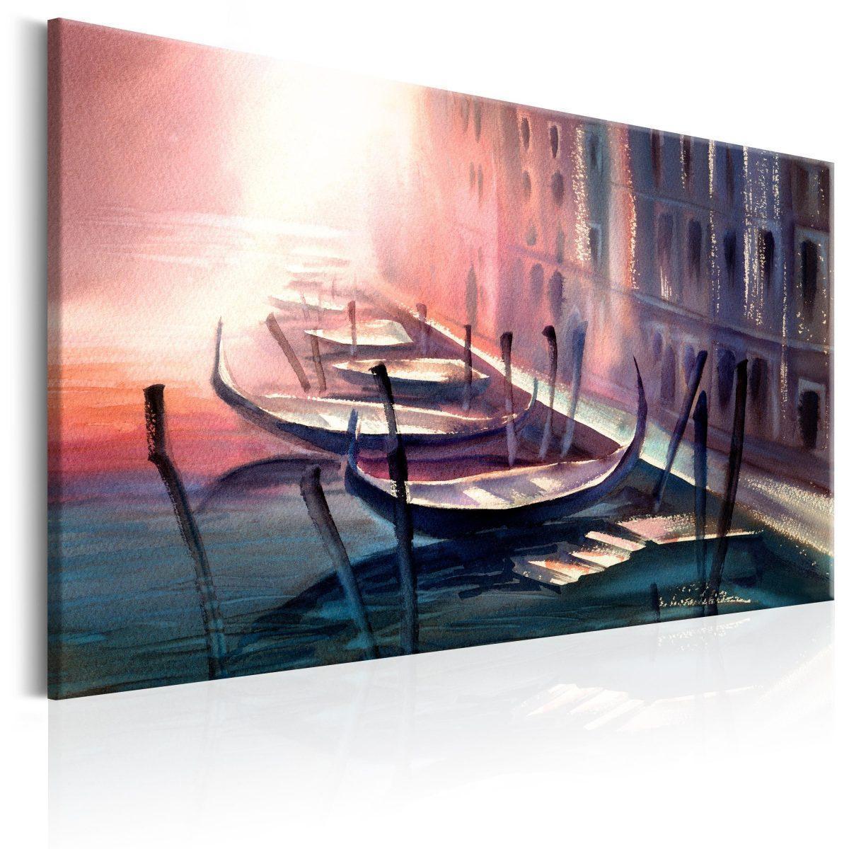 Canvas Tavla - Early Morning in Venice - 120x80