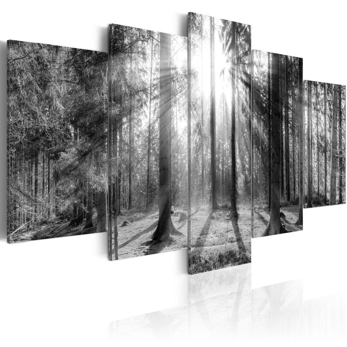 Canvas Tavla - Forest of Memories - 100x50