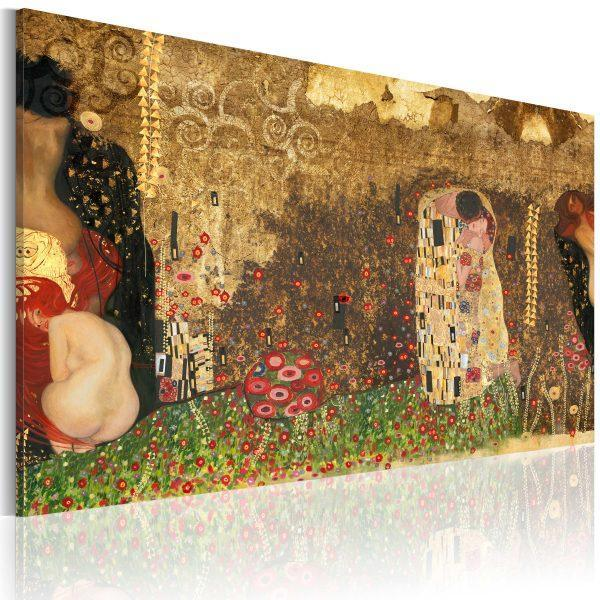 Canvas Tavla - Gustav Klimt - inspiration - 120x80