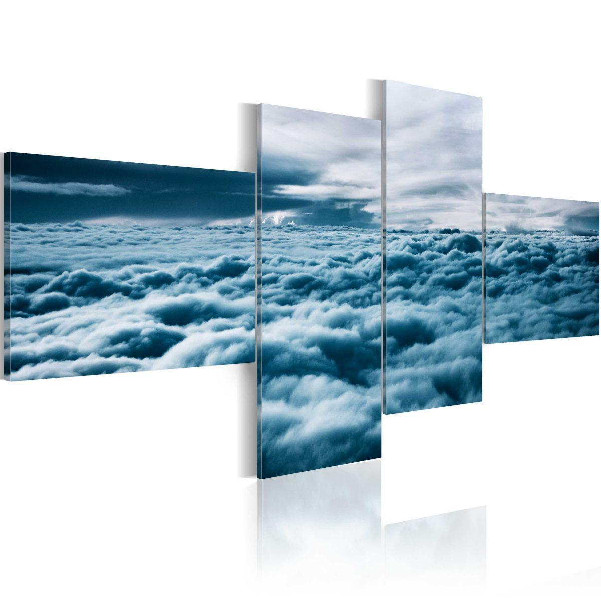 Canvas Tavla - Head in the clouds - 200x90