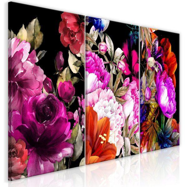 Canvas Tavla - Holiday Bouquet