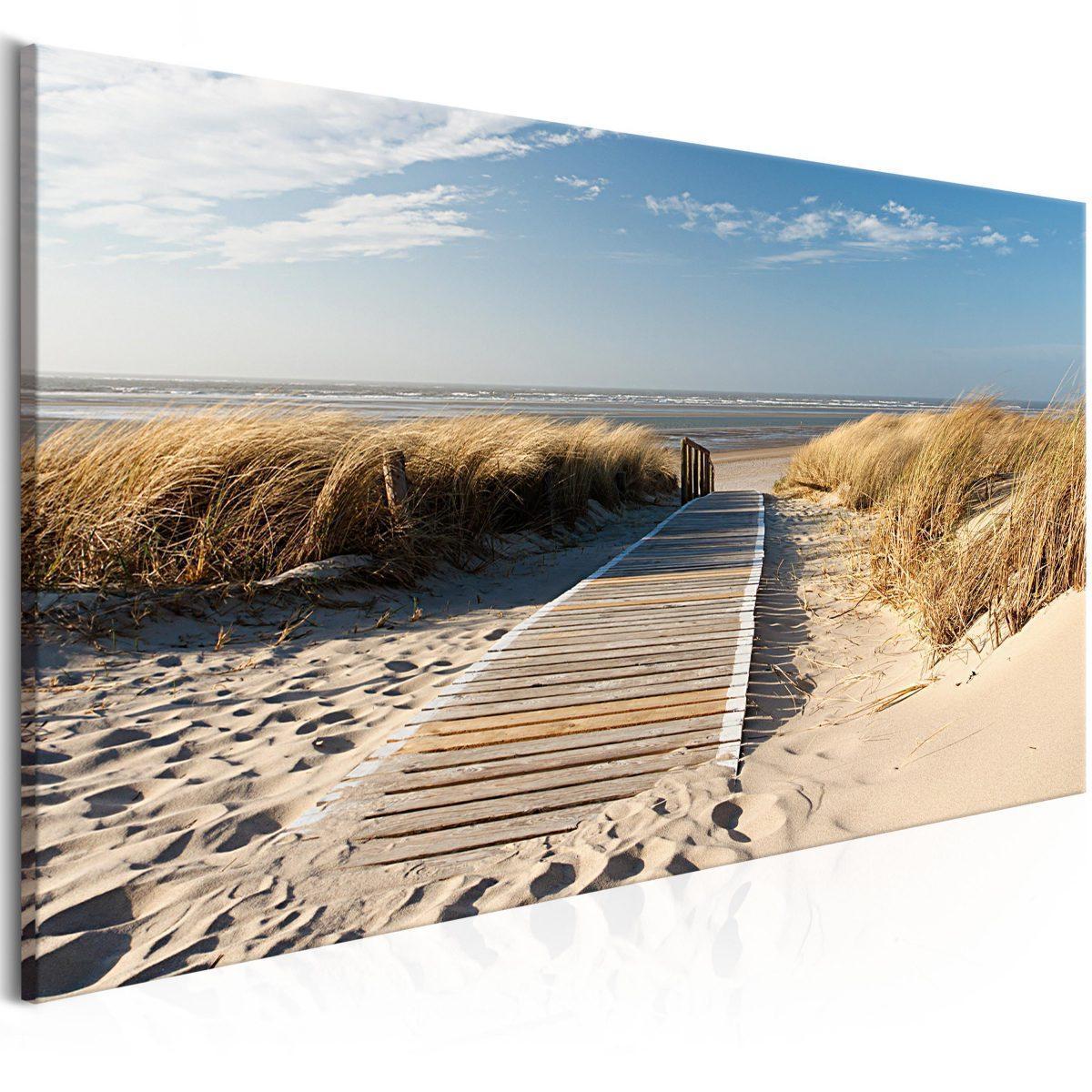 Canvas Tavla - Holiday at the Seaside