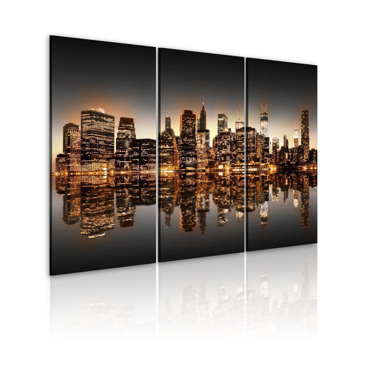 Canvas Tavla - Inspirerad NYC - 60x40
