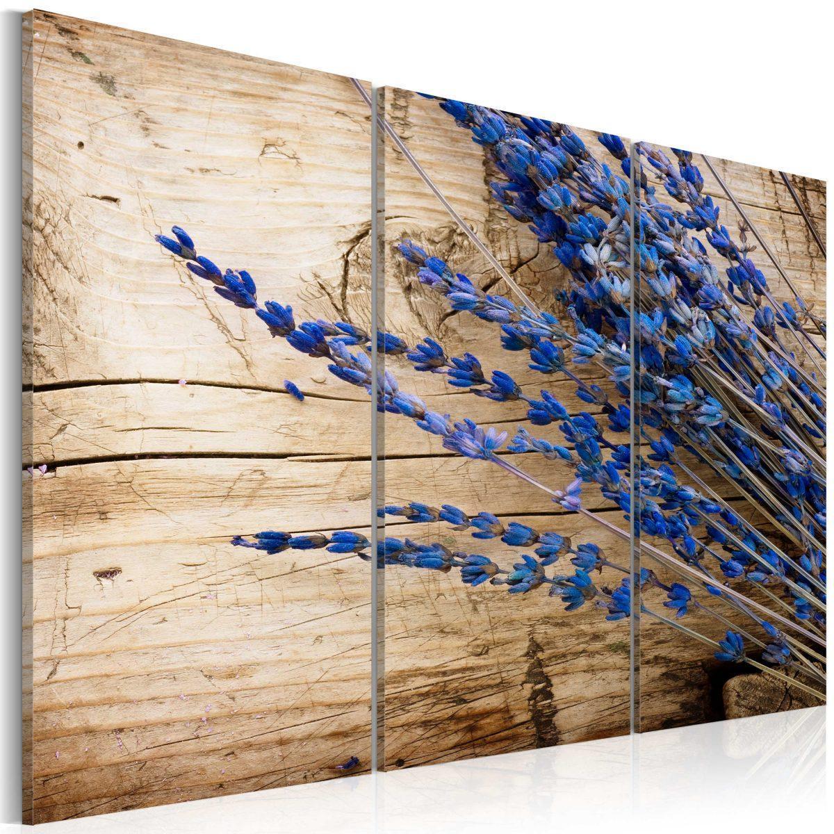 Canvas Tavla - Lavander - 90x60