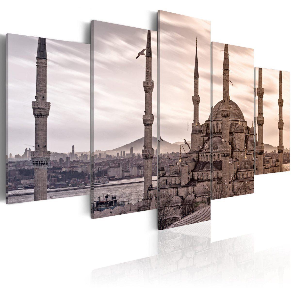 Canvas Tavla - Mosque on Near East - 200x100