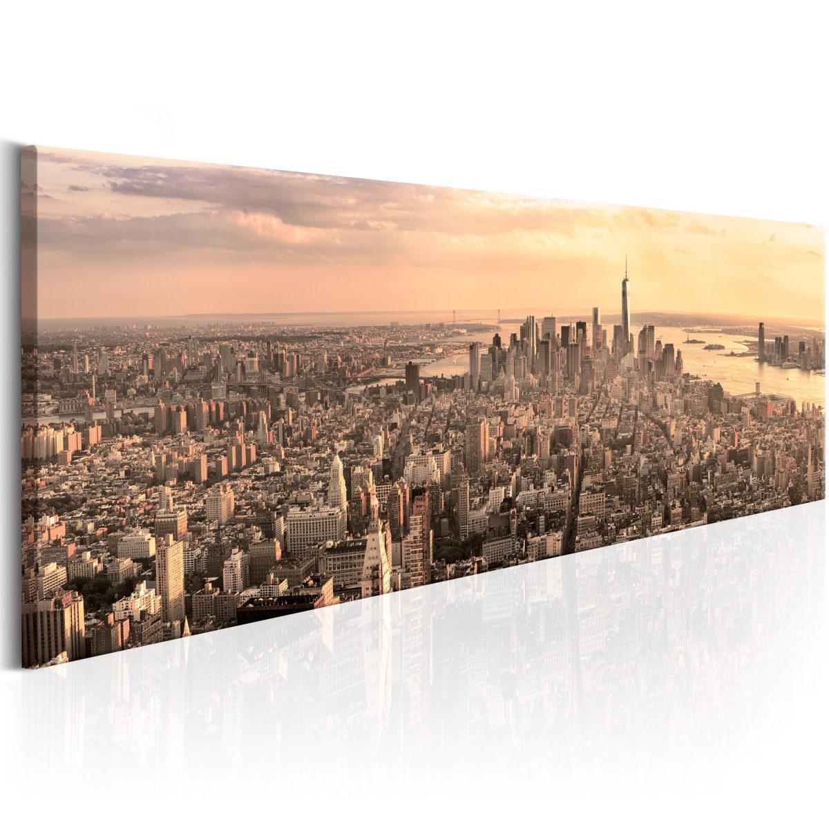 Canvas Tavla - NYC: Urban Beauty - 150x50