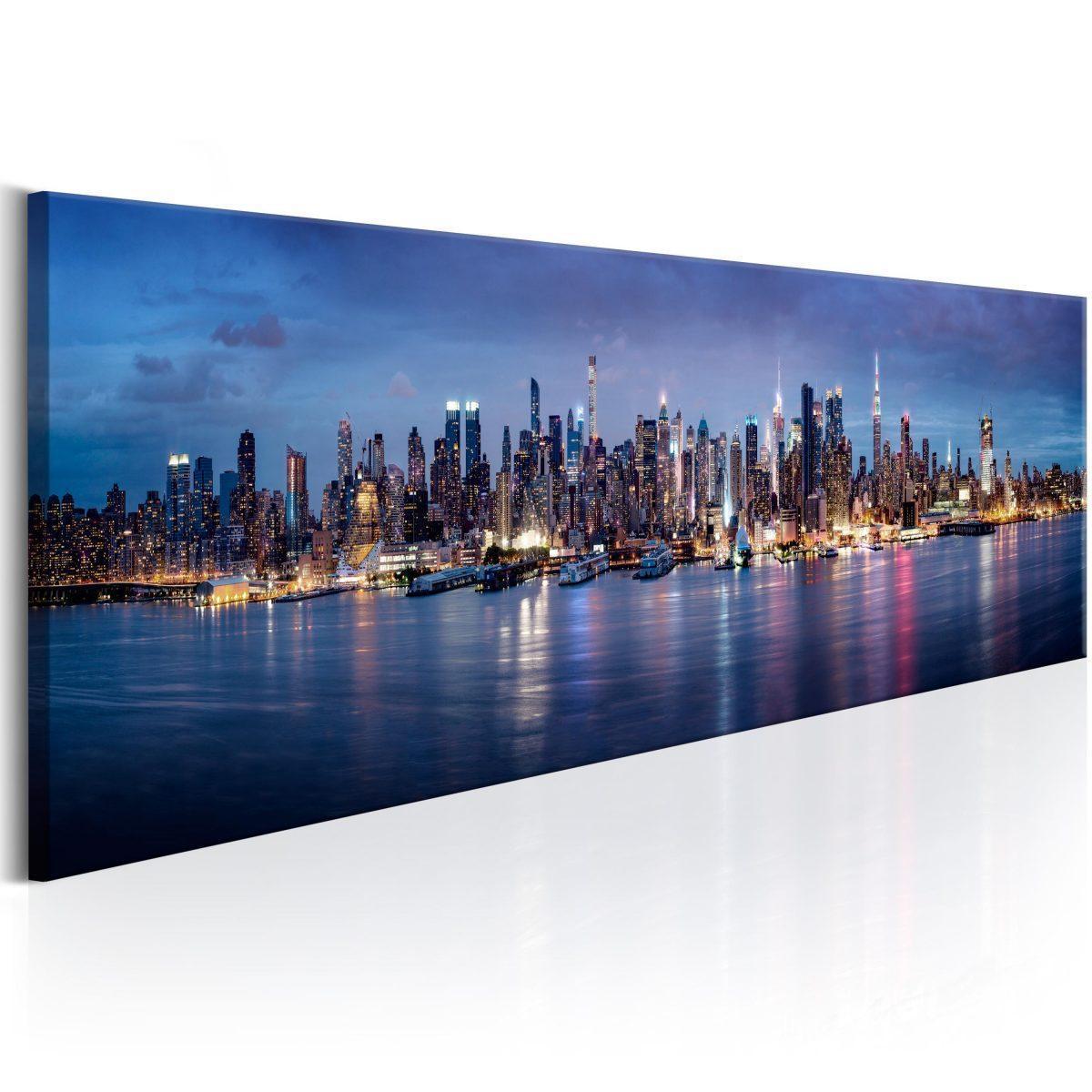 Canvas Tavla - New York Nights - 150x50