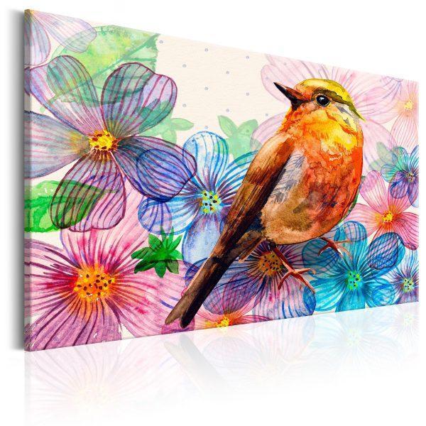 Canvas Tavla - Nightingale's Song - 120x80