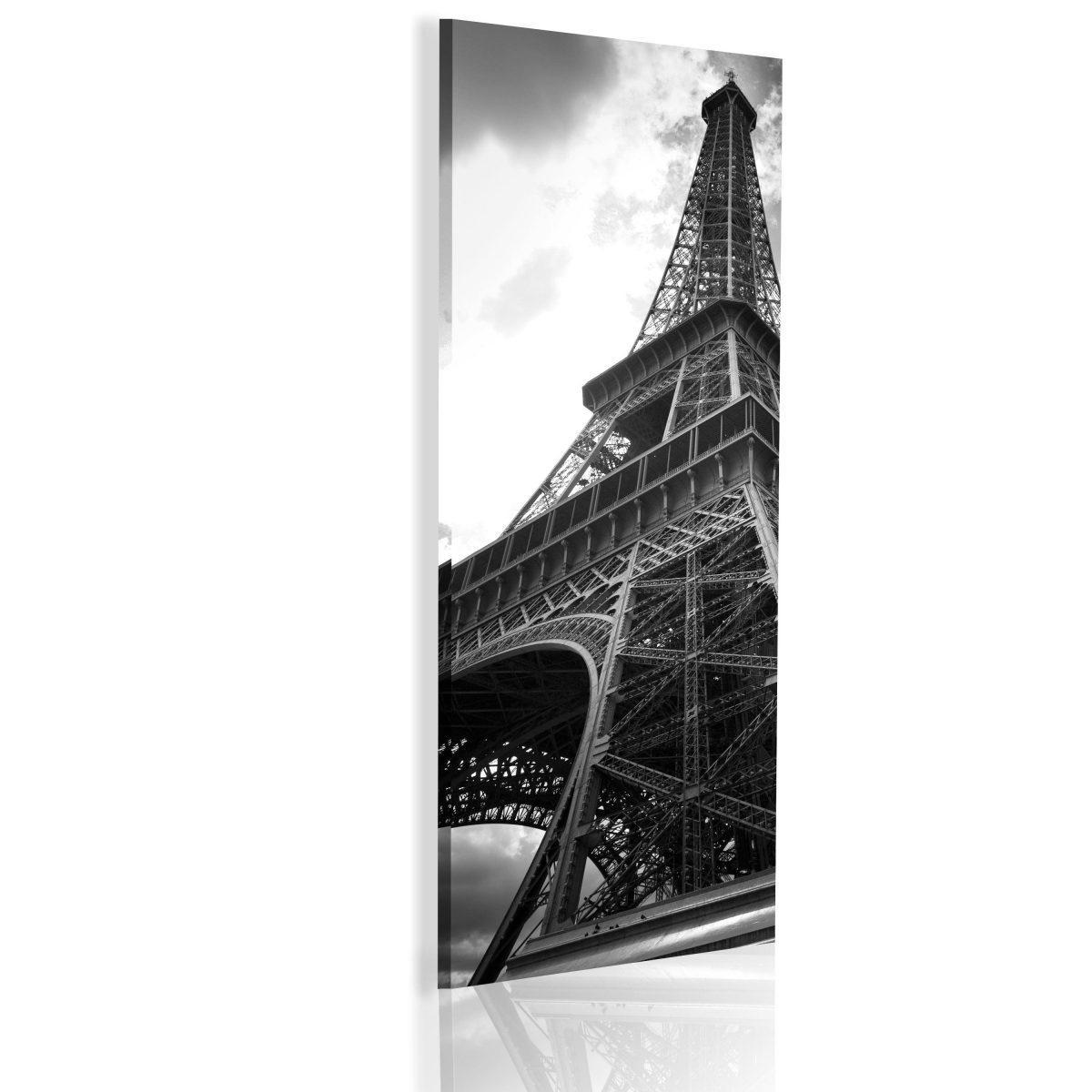 Canvas Tavla - Oneiric Paris - black and white - 45x135
