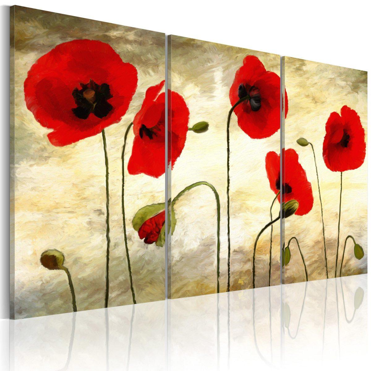Canvas Tavla - Paper thin beauties - 120x80