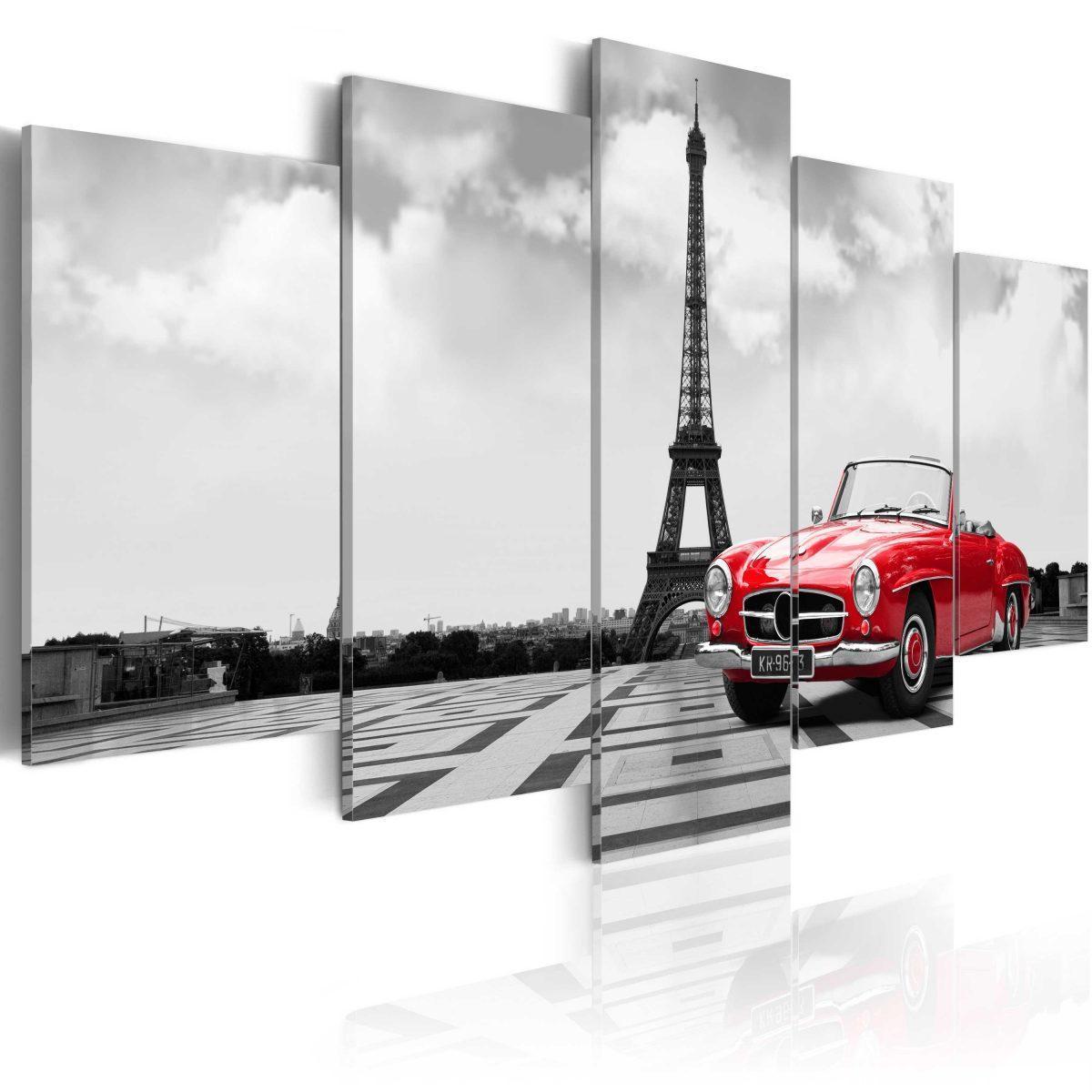 Canvas Tavla - Parisian car - 200x100