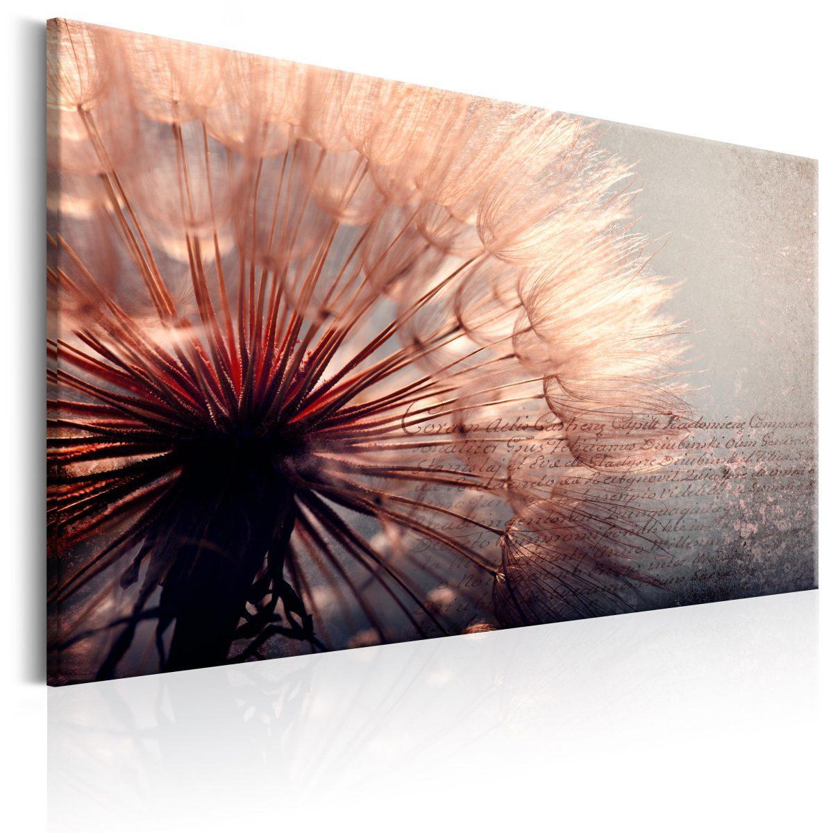 Canvas Tavla - Pink Gentleness - 120x80