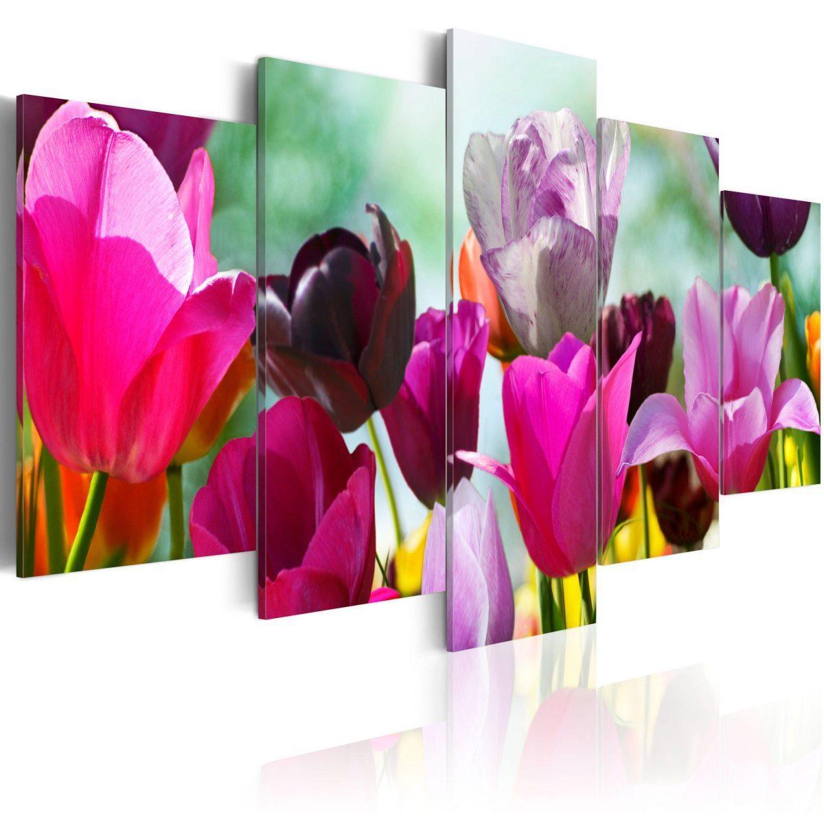 Canvas Tavla - Pink fun - 100x50