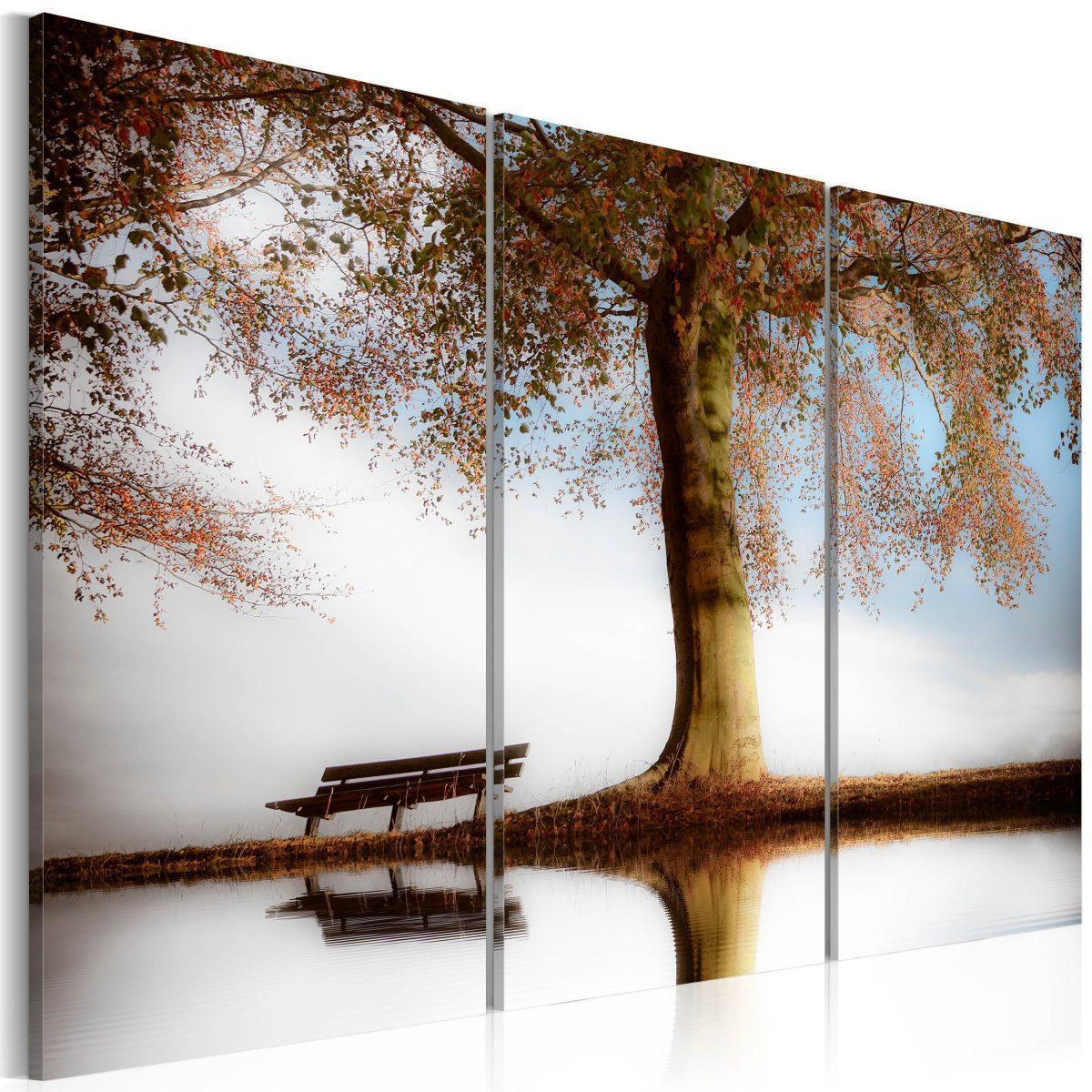 Canvas Tavla - Poetic landscape - 90x60