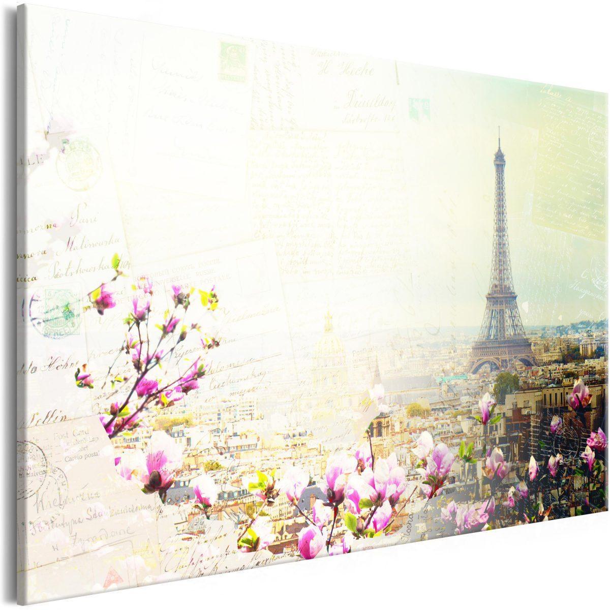 Canvas Tavla - Postcards from Paris