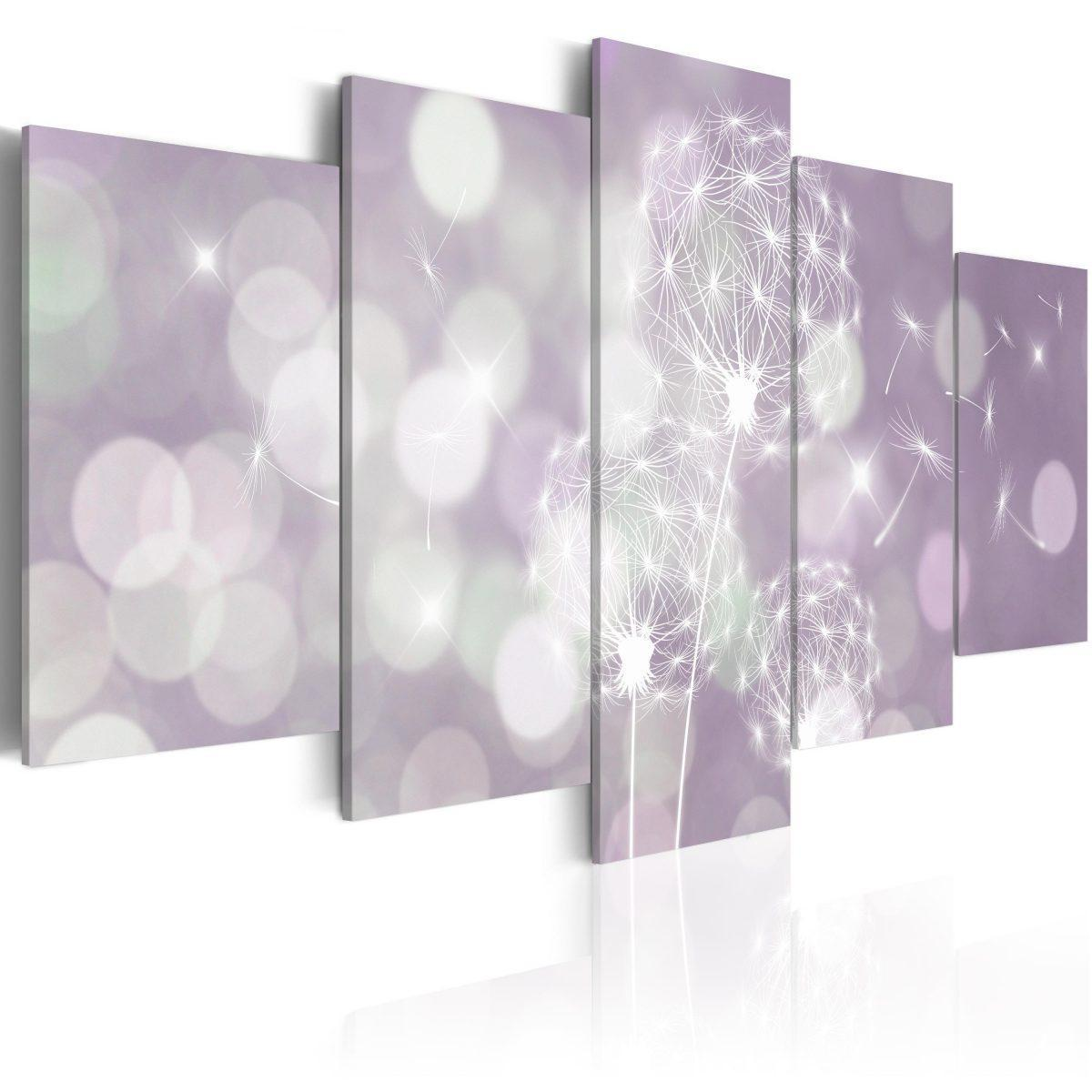 Canvas Tavla - Purple Concert - 200x100